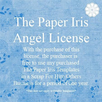 The Paper Iris Angel License