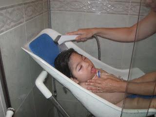 banho asfixia