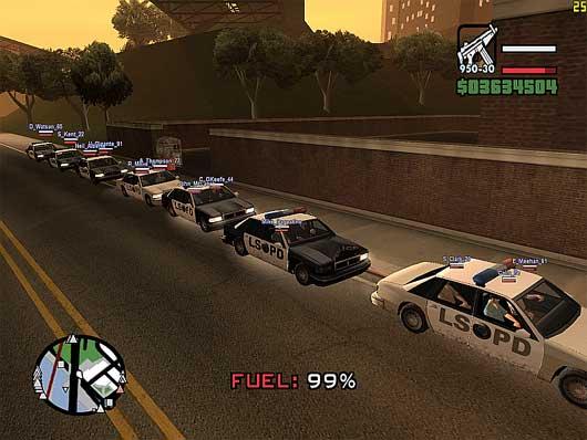 O GTA: San Andreas