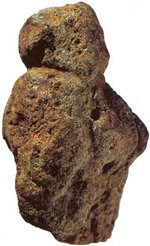 The artifact found at the Berekhat Ram