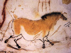 Horse from Lascaux