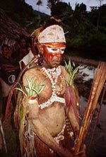 Shaman from Papua New Guinea