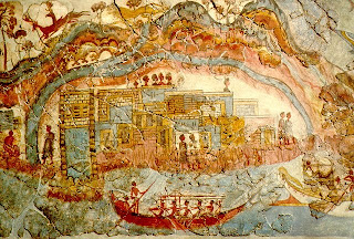 Minoan fresco image