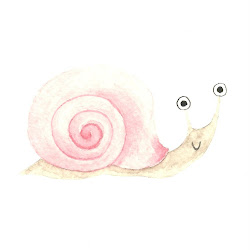 a snail named patient: a story-blog for Abby