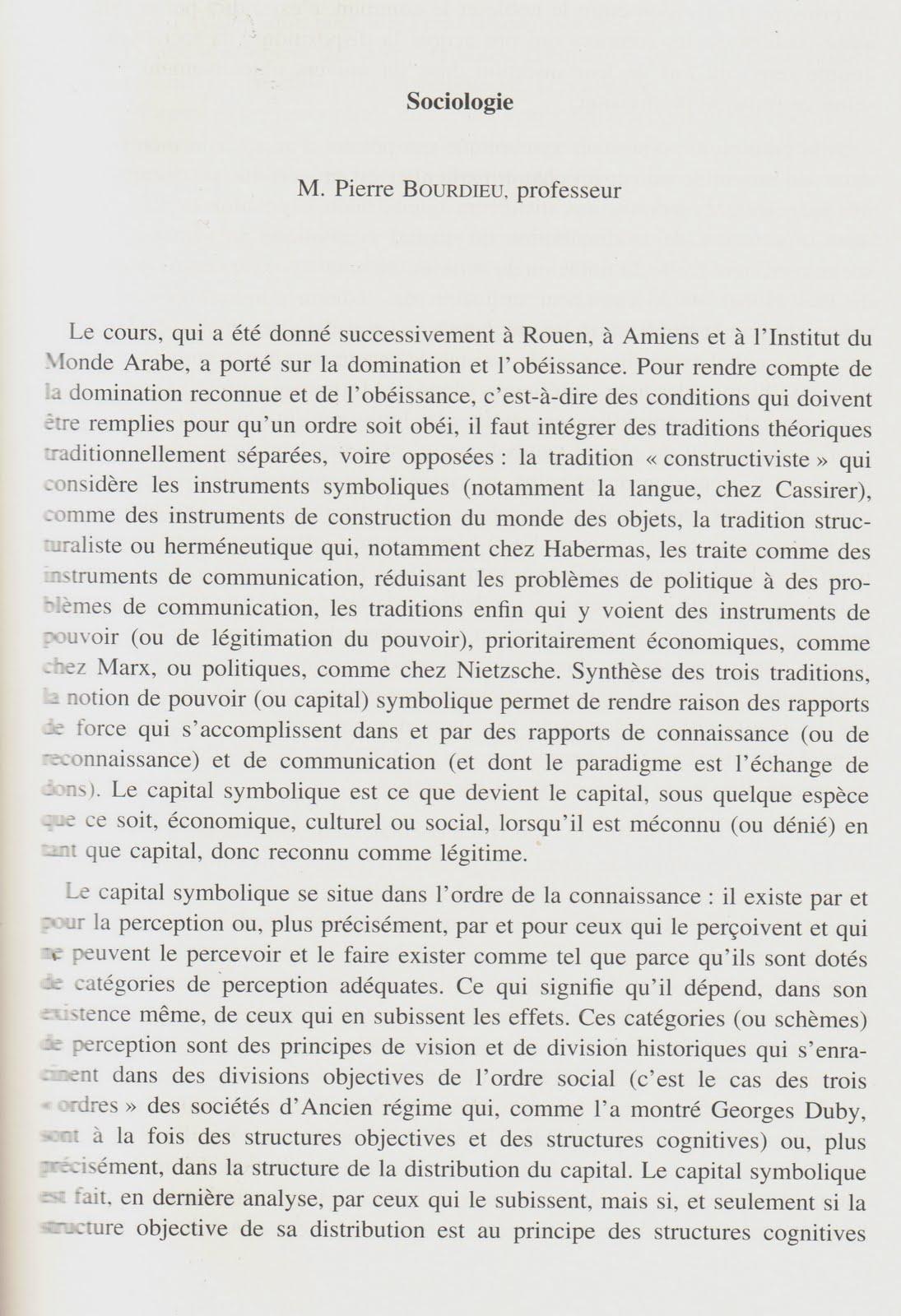 essays on habitus