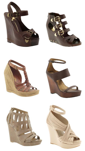 Wedges Lace Up