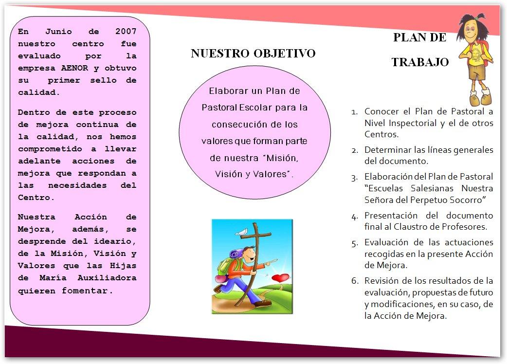 Triptico Word Plantilla