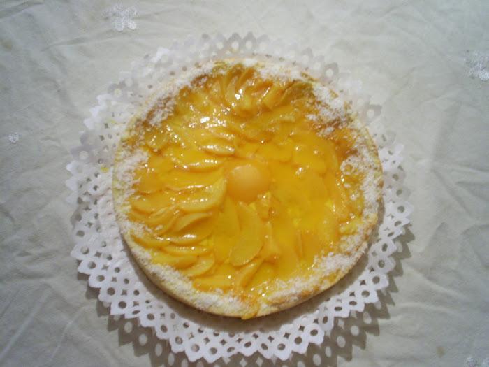 Tarta Durazno
