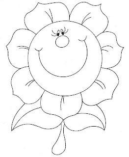 Çiçek Boyama Etkinliği - Çiçek Boyama Kalıpları