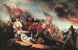 history is elementary trumbull s battle of bunker hill those of you who guessed an american revolution battle were correct and those of you who mentioned bunker hill were