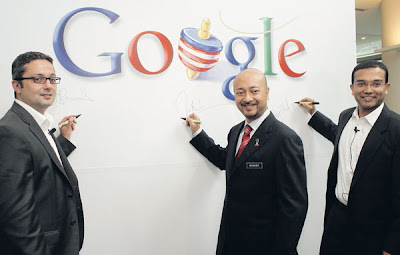 Google Buka Perniagaan di Kuala Lumpur