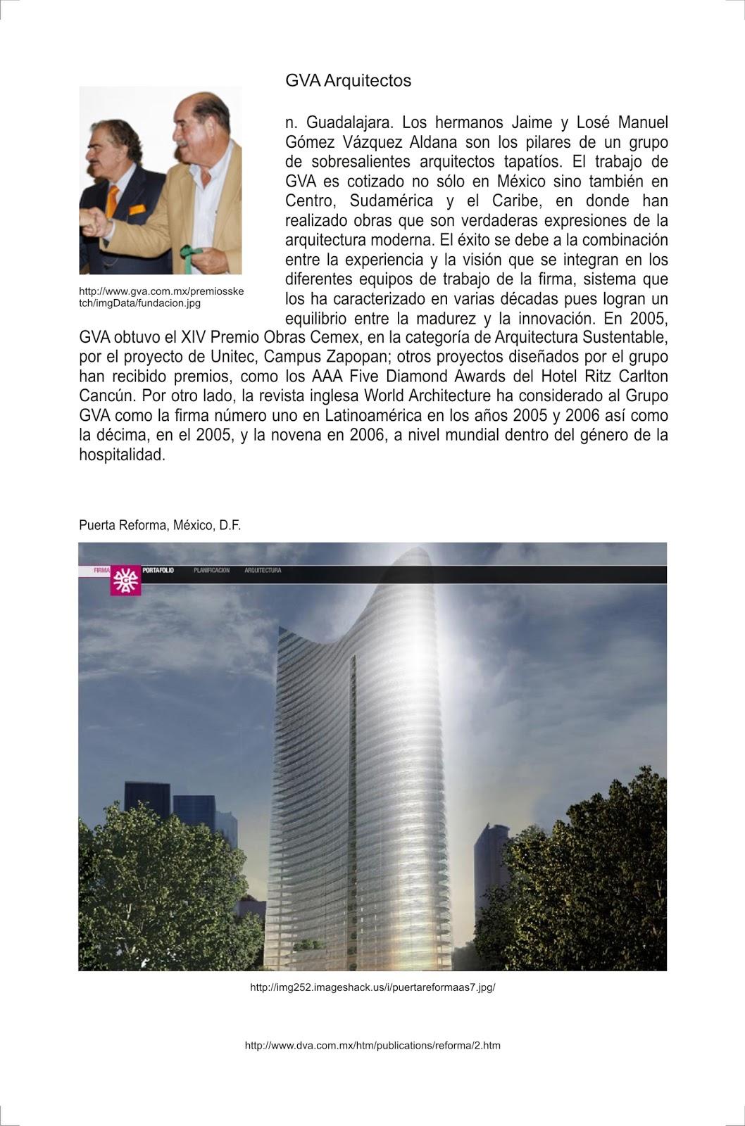 De jalisco para el mundo gva despacho de arquitectos que - Gva arquitectos ...