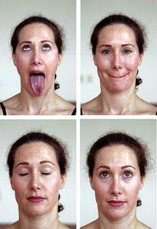 Cara mengecilkan pipi dengan yoga wajah