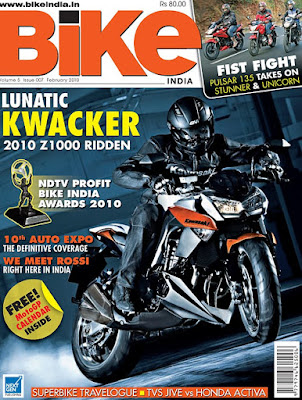 February 2010 Issue of Bike India