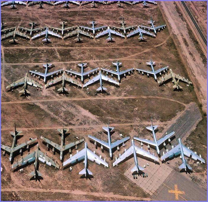 sport life: The Bone Yard near Davis Monthan Air Force