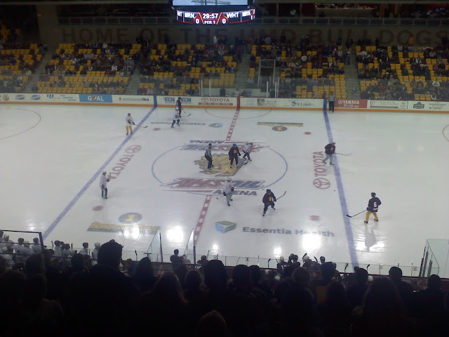 WCHA: Duluth's New Amsoil Arena Ready To Host First Game - UMD Bulldogs Vs. UND Fighting Sioux