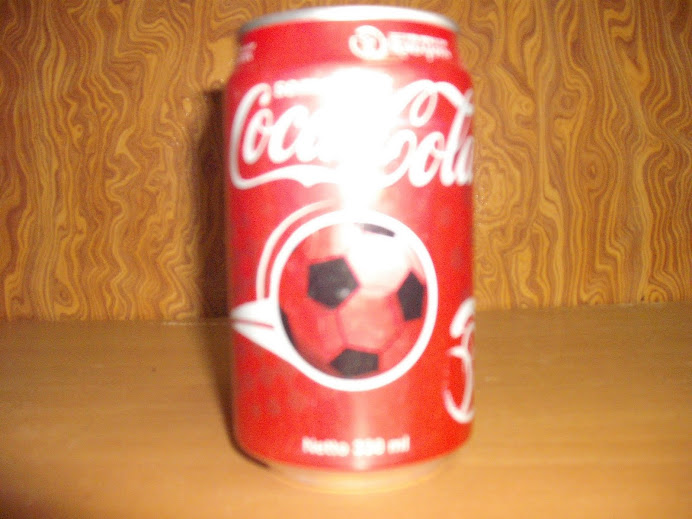 Indonesia coke can