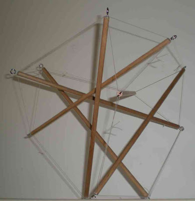 Intergalactic Network Toying With Tensegrity Part 3