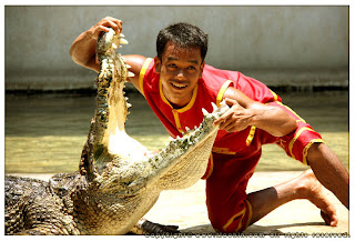Samut Prakan Crocodile Farm