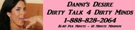 Danni's Desire - Dirty Talk 4 Dirty Minds