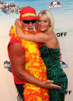 Hulk Hogan and his girlfriend Jennifer McDaniels