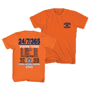 Auburn national title t-shirt