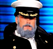 Brian Wilson dressed as a sailor on Lopez Tonight