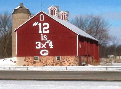 Favre Barn has been turned into Mr. Rodgers' neighborhood