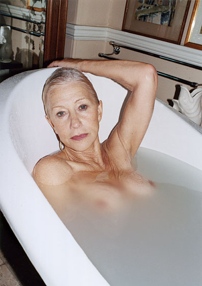 Helen Mirren Topless and Loving Her Beautiful Aging Body
