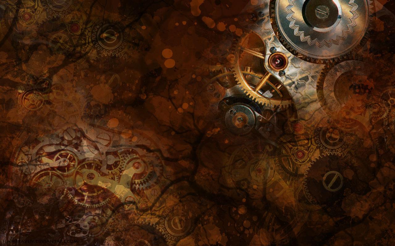 Good   Wallpaper Horse Steampunk - Steampunk_Wallpaper_by_FlameRaven  Picture_909991.jpg