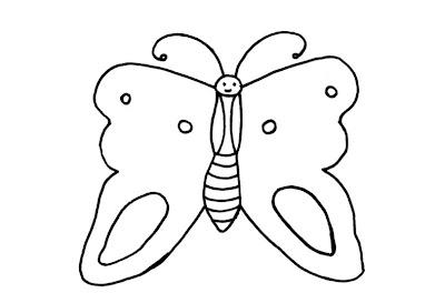 Pintar borboleta