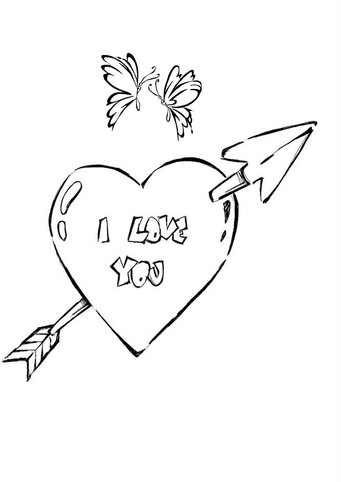 imagens para colorir coração - Desenhos de Corações para Colorir Colorir