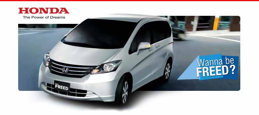 Honda Freed Indonesia