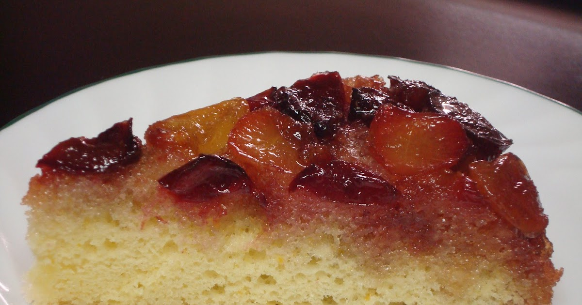 Cherry Upside Down Cake Using Fresh Cherries Uk