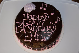 Can I Make Your Cake Erin S Birthday Cake