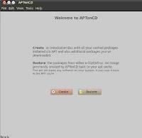 backup ubuntu aptonCD