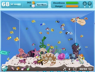 Favorite Happy aquarium facebook game
