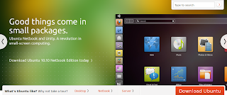 Ubuntu 10.10 netbook edition download