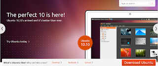 Ubuntu 10.10 Maverick Meerkat pulished
