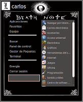 Desu sheets death note anime gnomenu theme