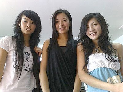 2009 Chinese Curly Hairstyles For Teen Girls