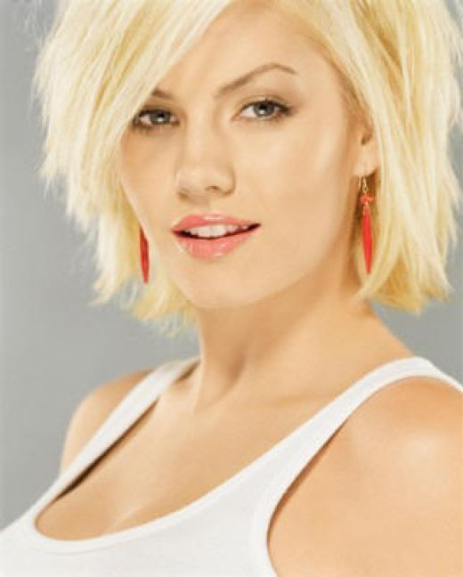 Short hairstyles could be adopted for the women of any age.