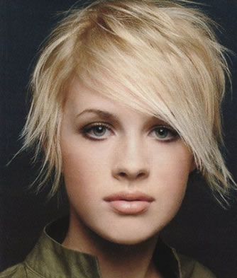 punk goth hairstyles. Short hairstyle with neo goth and punk flavor and understated elegance