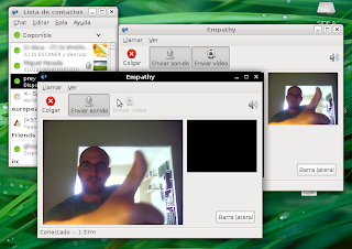 empathy  Gmail chat con video en tu Ubuntu