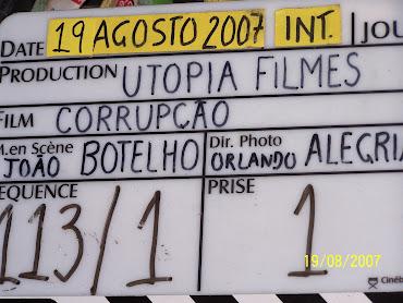 CLAQUETE DO FILME