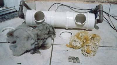 Filtro canister Caseiro para aquário passo a passo. Filtrotinspecao9