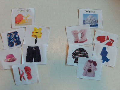 Seasons Clothing Sort