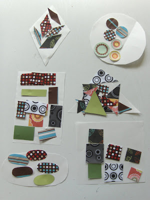 Make a shape collage like The Activity Mom