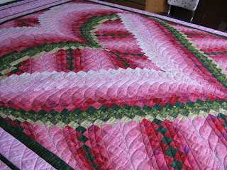 Country Garden Quiltworks: Melinda's Heart Bargello Quilt