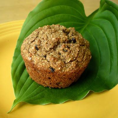 Foy Update: Healthy Happy Banana Muffins - High Fiber, Low Fat Recipe